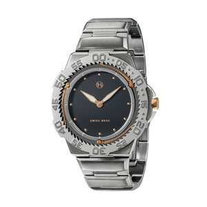 NOVE Trident Swiss Made Stainless Steel Watch