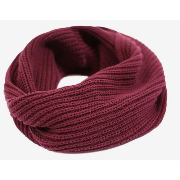 Burgundy Love Your Melon Infinity Scarf
