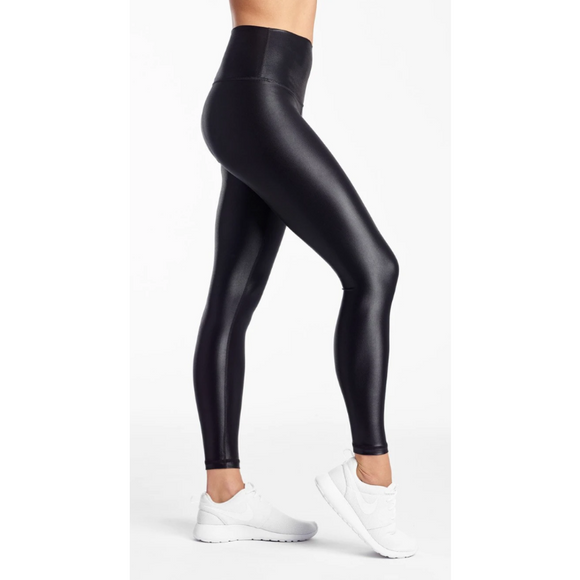 High Shine Signature Tight- Black