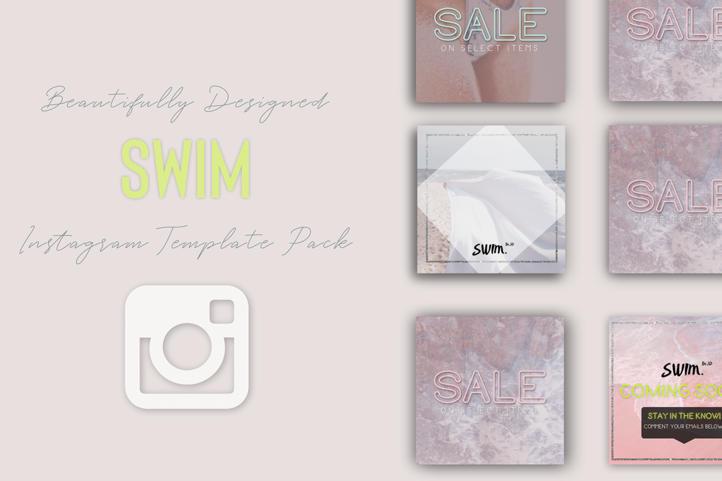 Custom Instagram Templates