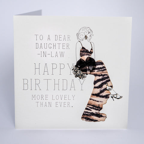 To a Dear Daughter-in-Law Happy Birthday