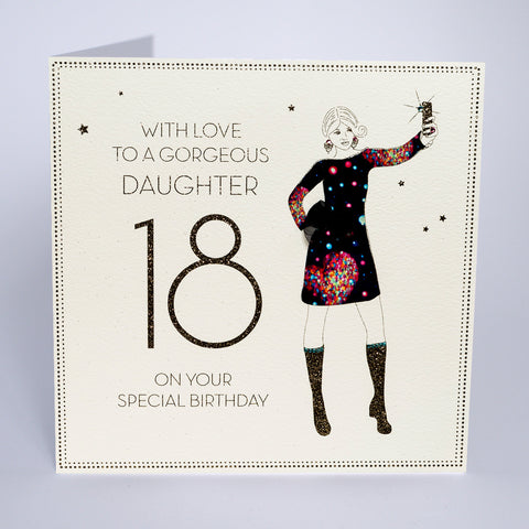 18 - With Love To a Gorgeous Daughter