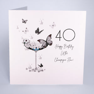 40  - Happy Birthday Let The Champagne Flow