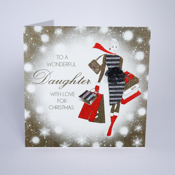 To A Wonderful Daughter With Love For Christmas