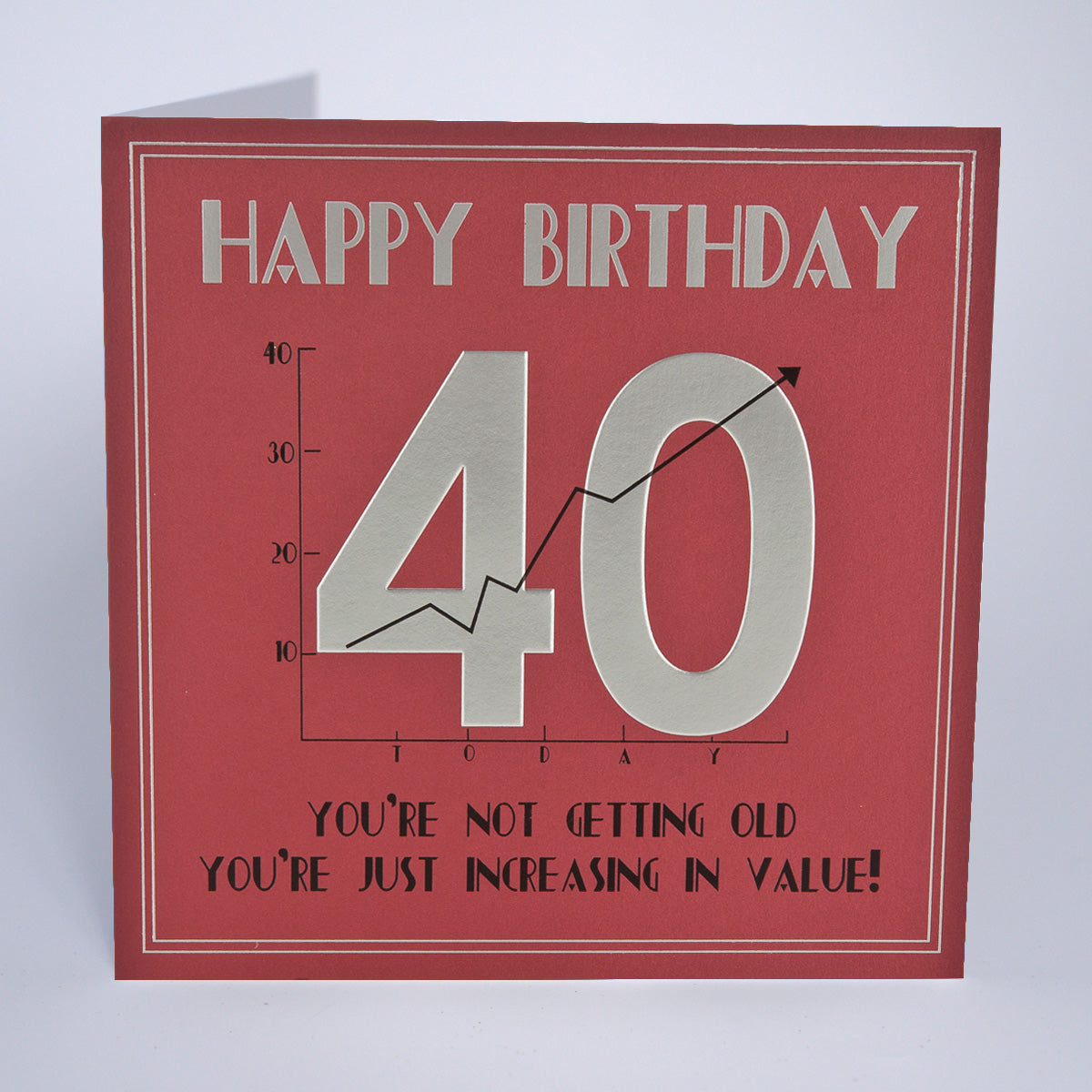 40th Birthday - Increasing In Value