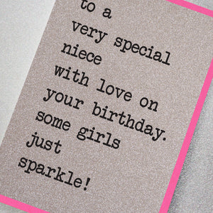 To a Very Special Niece, With Love On Your Birthday