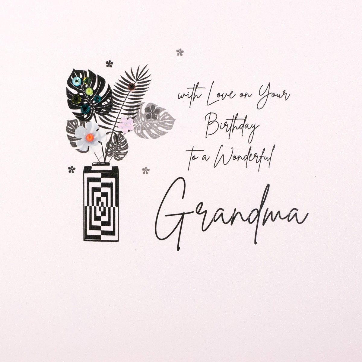 With Love To a Wonderful Grandma