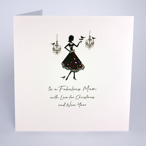 To A Fabulous Mum (Large Card)