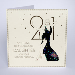 21 - With Love To a Gorgeous Daughter