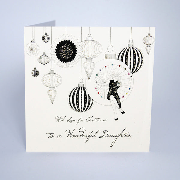To a Wonderful Daughter (Large Card)