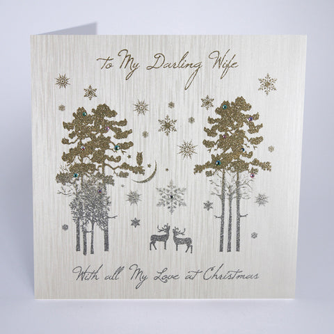 To My Darling Wife (Large Card)