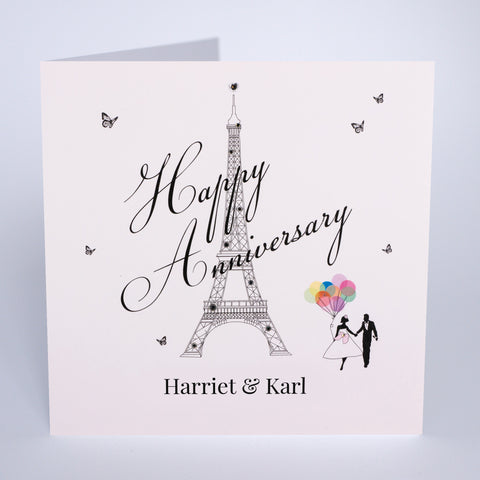 Happy Anniversary - Eiffel Tower