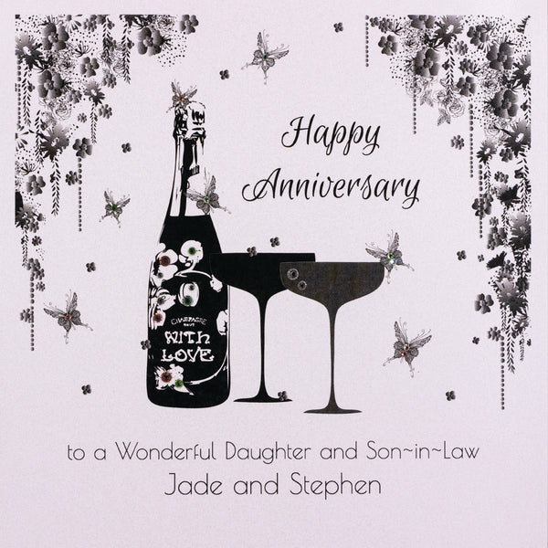 Happy Anniversary to a Wonderful Daughter and Son-in-Law