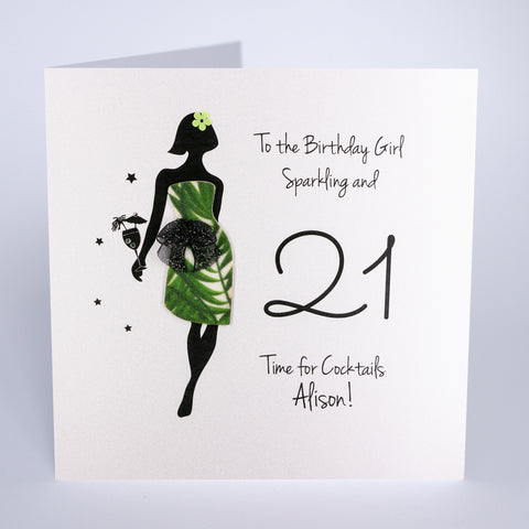 To the Birthday Girl, Sparkling and 21