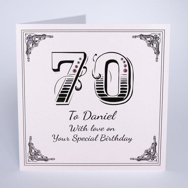 70 With Love on Your Special Birthday
