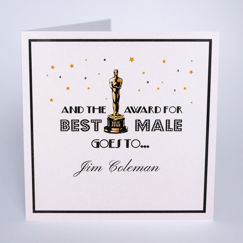 Award For Best Male Goes To…