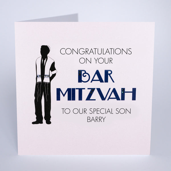 Congratulations on your Bar Mitzvah