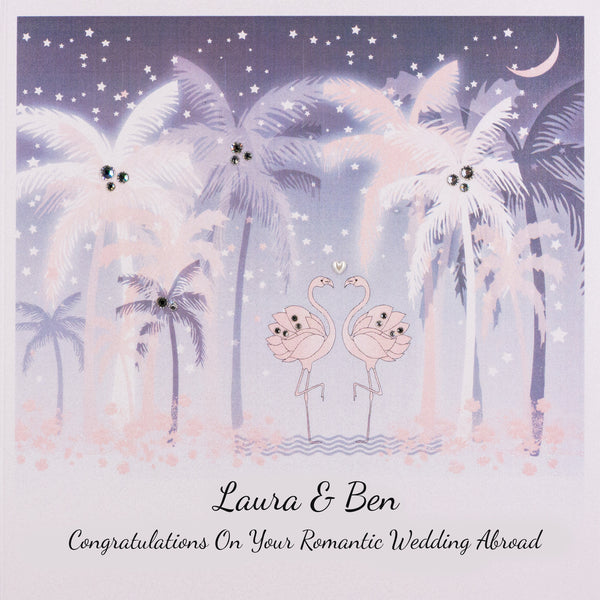 Congratulations on Your Romantic Wedding Abroad