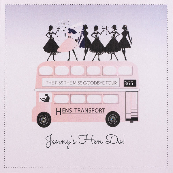 The Kiss The Miss Goodbye Tour - Hen Do