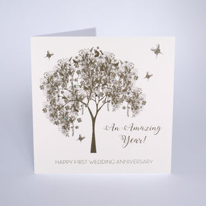 Happy First Wedding Anniversary