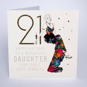 21 - Happy Birthday Wonderful Daughter