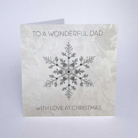 To a Wonderful Dad With Love at Christmas
