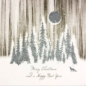 Merry Christmas And A Happy New Year (Moon Halo)