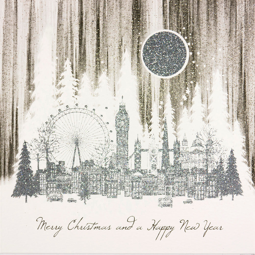 Merry Christmas And A Happy New Year (London Scene)