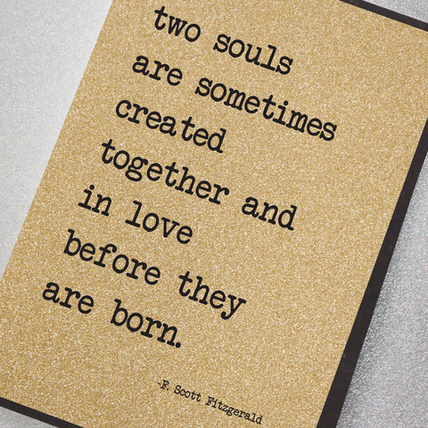 Two Souls Are Sometimes Created Together…