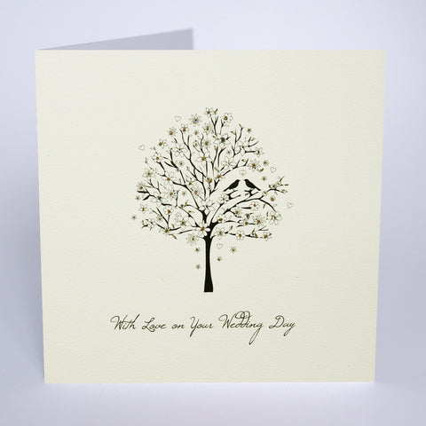 With Love On Your Wedding Day - Tree