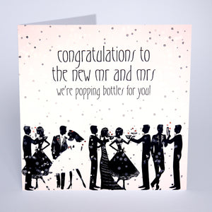 Congratulations to the New Mr & Mrs