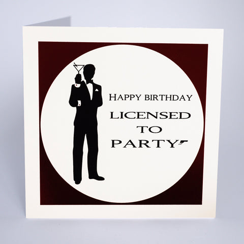 Licensed to party