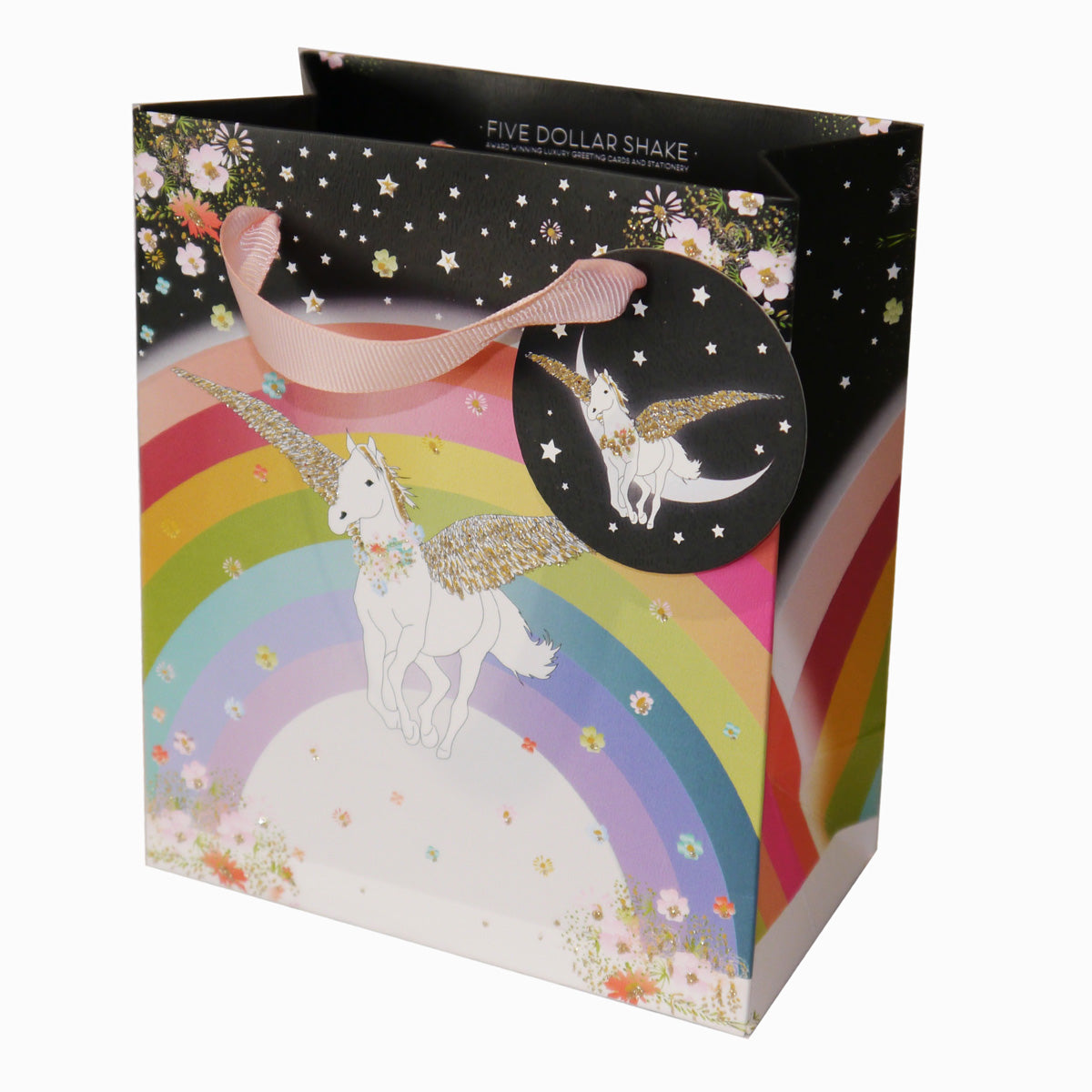 Unicorn & Rainbow (SMALL BAG)