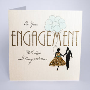 On Your Engagement - With Love and Congratulations