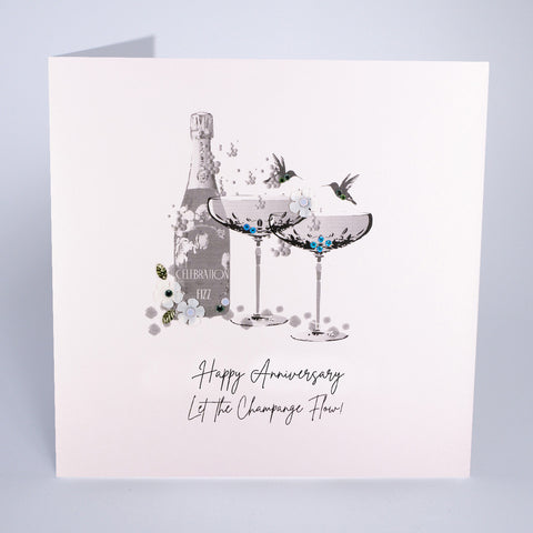 Happy Anniversry - Let The Champagne Flow