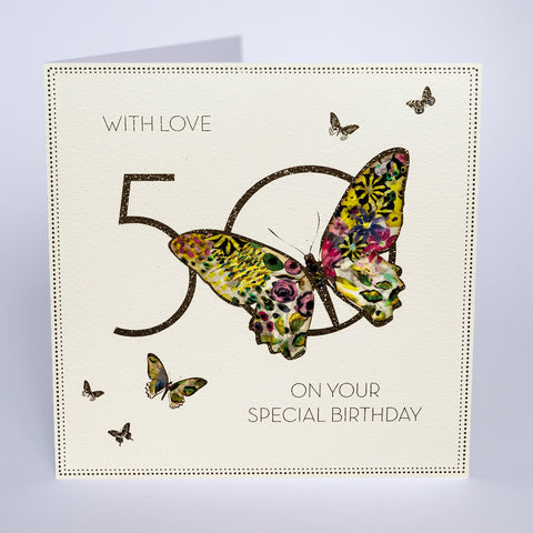 50 - With Love On Your Special Birthday