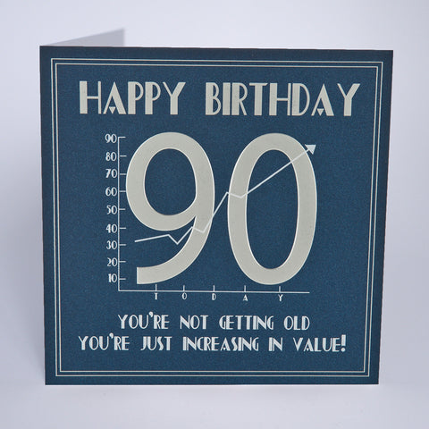 90th Birthday - Increasing In Value