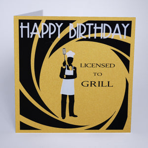 Licensed To Grill