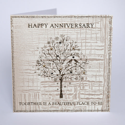Happy Anniversary - Together is a Beautiful Place to Be