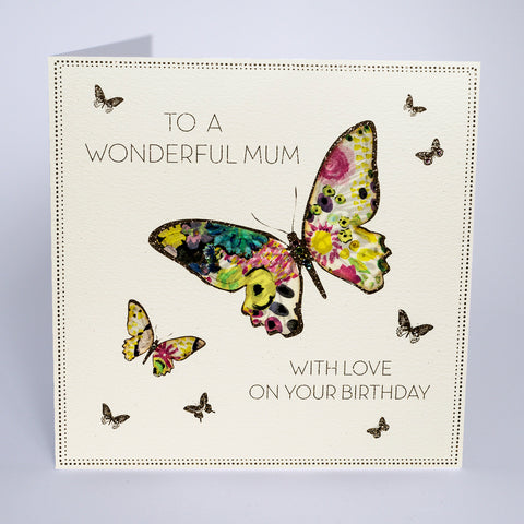 To A Wonderful Mum - On Your Birthday