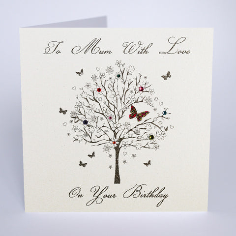 I am  So Lucky You Are My Mum Five Dollar Shake Luxury Greeting Card