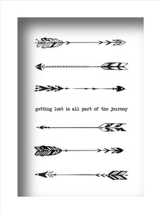 Getting Lost is all part of the Journey