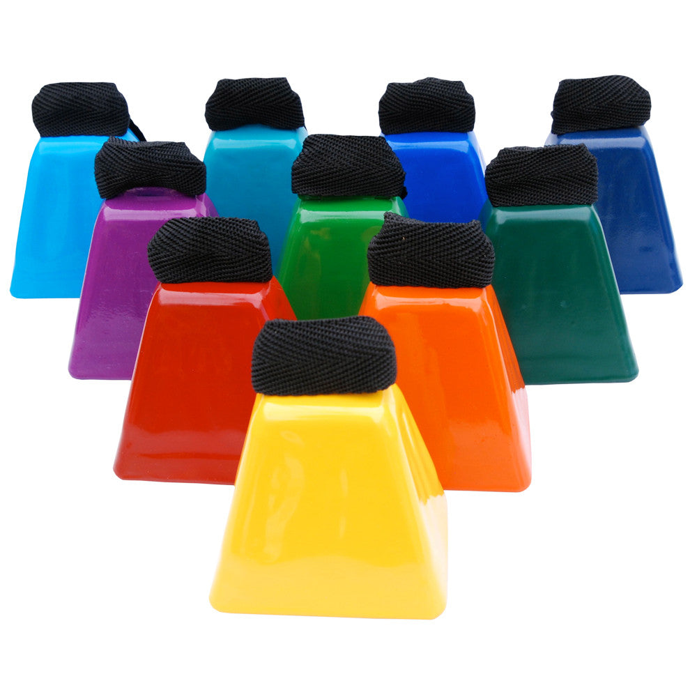 Multi-Color Premium Cowbells - Mae Bells