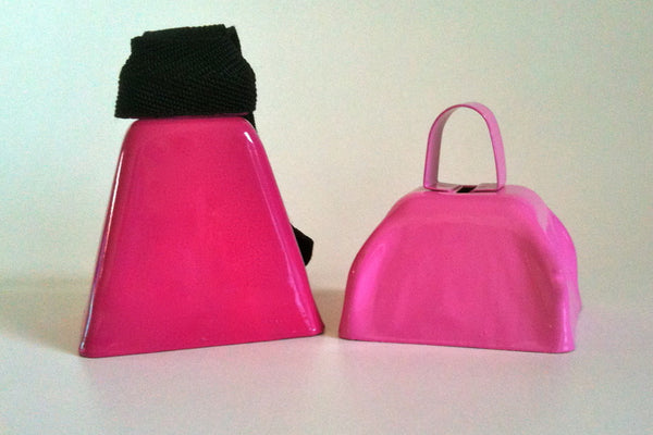 Ring it up for Charity! With your purchase of PINK cowbells!