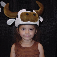 Goofy Cow Hats