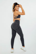 Fearless High Rise Leggings - Charcoal