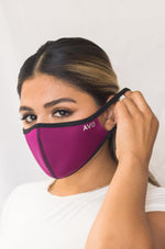 AVO Face Mask - Burgundy