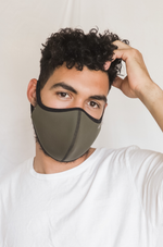 AVO Face Mask - Olive Green