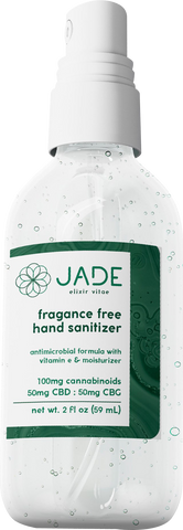 Fragrance Free Hand Sanitizer