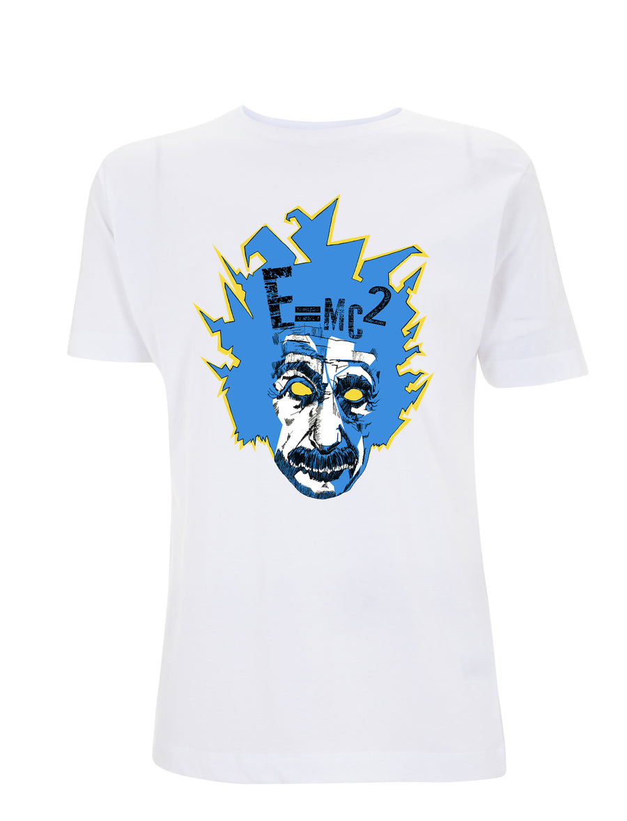 E = MC2 - Graphic Tee - White - Urban Reaper Clothing